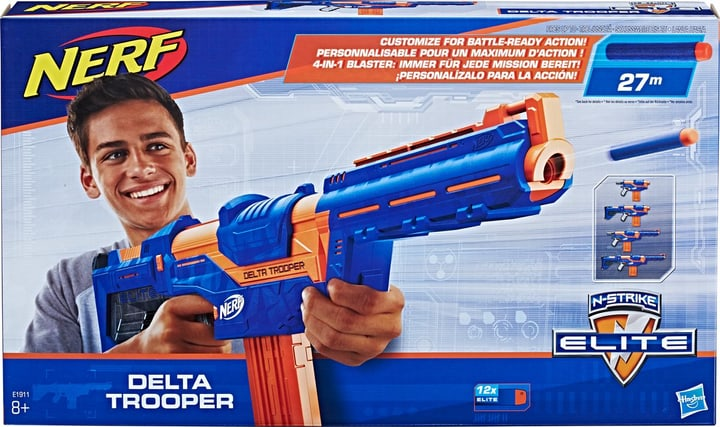 Nerf N-Strike Elite Delta Trooper 747947500000 Photo no. 1