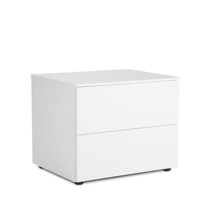 BOXSPRING Comodino 360904200000 Dimensioni L: 50.0 cm x P: 41.0 cm x A: 40.0 cm Colore Bianco N. figura 1