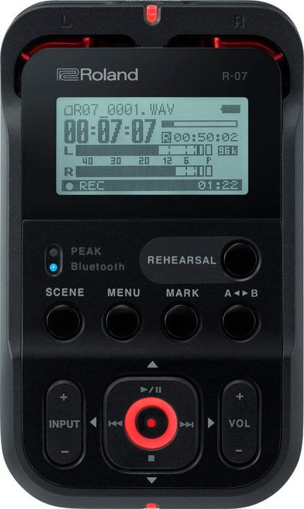 R-07 - Noir Audio Recorder Roland 785300150585 Photo no. 1