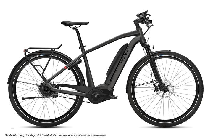 "Upstreet5 7.10 28"" E-Trekkingbike FLYER 463350400486 Rahmengrösse M Farbe anthrazit Bild Nr. 1"