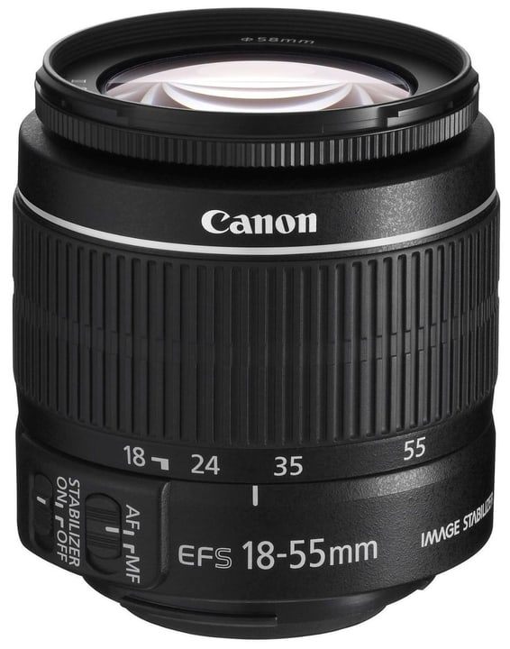 EF-S 18-55mm 3.5-5.6 IS II Objectif Objectif Canon 785300127780 Photo no. 1