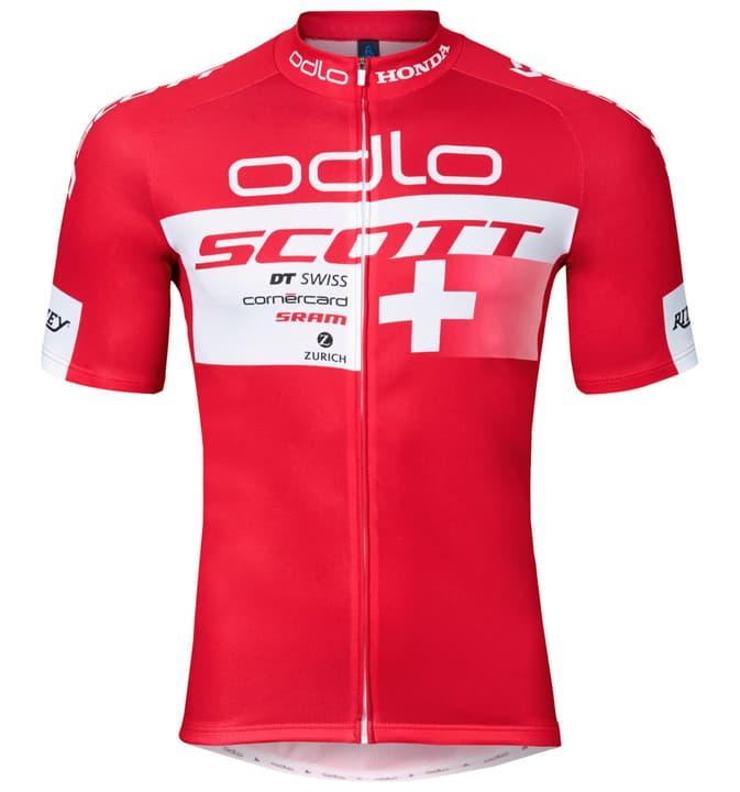 Scott Racing Team Replica Herren-Kurzarmtrikot Odlo 461322100330 Farbe rot Grösse S Bild-Nr. 1