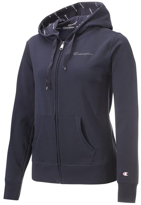Legacy Women Hooded Full Zip Sweatshirt Damen-Kapuzenjacke Champion 464210700343 Farbe marine Grösse S Bild-Nr. 1