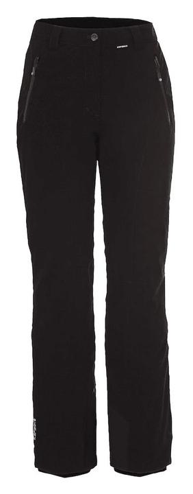 Noelia Pantalon de ski pour femme Icepeak 462545203420 Couleur noir Taille 34 Photo no. 1