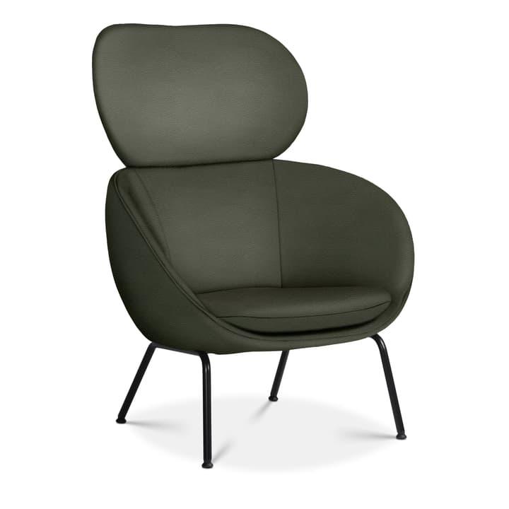SAPO Poltrona Edition Interio 360441007063 Dimensioni L: 84.0 cm x P: 85.0 cm x A: 110.0 cm Colore Verde scuro N. figura 1