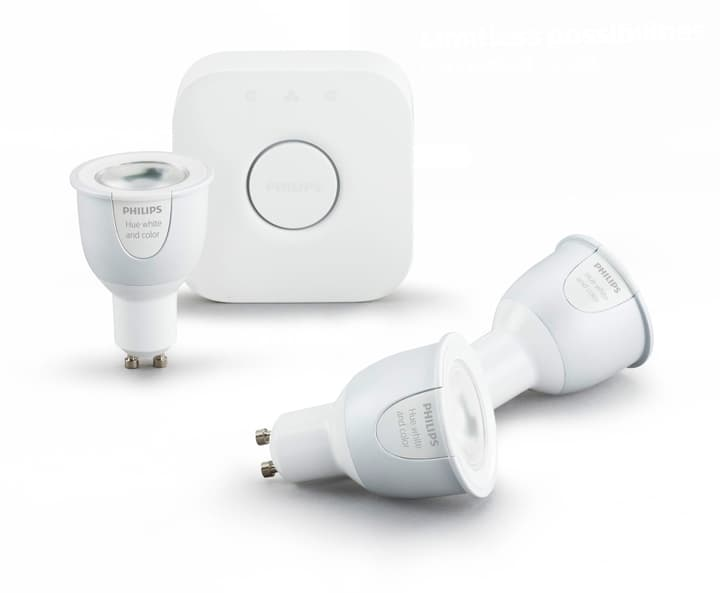 HUE GU10 6.5W 3er Set Philips 421047100000 Bild Nr. 1