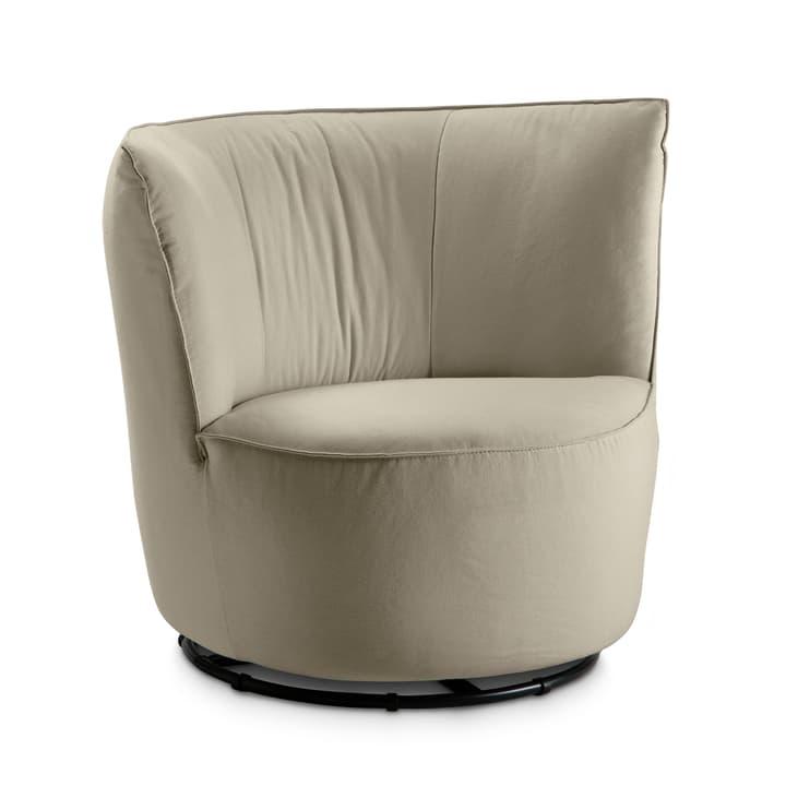 BRONTE Sessel 360049527502 Grösse B: 85.0 cm x T: 80.0 cm x H: 77.0 cm Farbe Taupe Bild Nr. 1