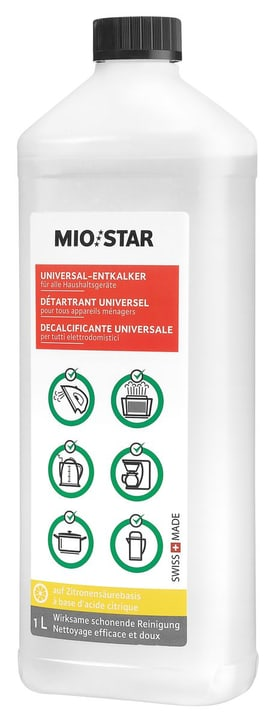 Universel détartrant 1000ml Universel détartrant Mio Star 717386500000 Photo no. 1