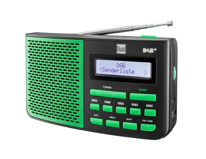 DAB 4.1 SG - Vert Radio DAB+ Dual 773024100000 Photo no. 1