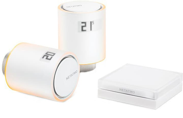Netatmo Valves Start er Pack 1x Hub 2x Valves Starter Pack 1x Hub 2x Thermostat Netatmo 798231300000 Photo no. 1