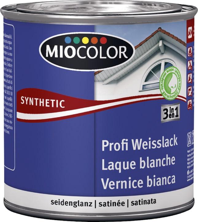Synthetic Profi Weisslack seidenglanz Weiss 375 ml Miocolor 661442800000 Farbe Weiss Inhalt 375.0 ml Bild Nr. 1