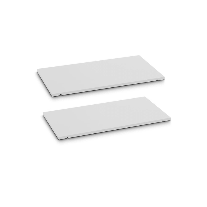 SEVEN Tablar 2er-Set 60cm Edition Interio 362019447901 Grösse B: 60.0 cm x T: 1.4 cm x H: 35.5 cm Farbe Weiss Bild Nr. 1