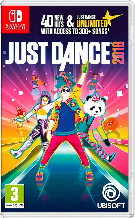 Switch - Just Dance 2018 Box 785300128778 Photo no. 1