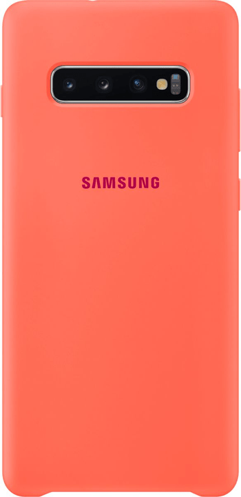 Silicone Cover Berry Pink Custodia Samsung 785300142480 N. figura 1