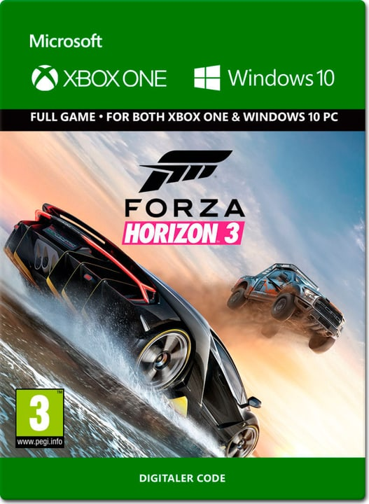 Xbox One - Forza Horizon 3 Download (ESD) 785300137362 Photo no. 1