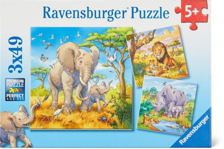 Géants sauvages Ravensburger Puzzle 748976700000 Photo no. 1