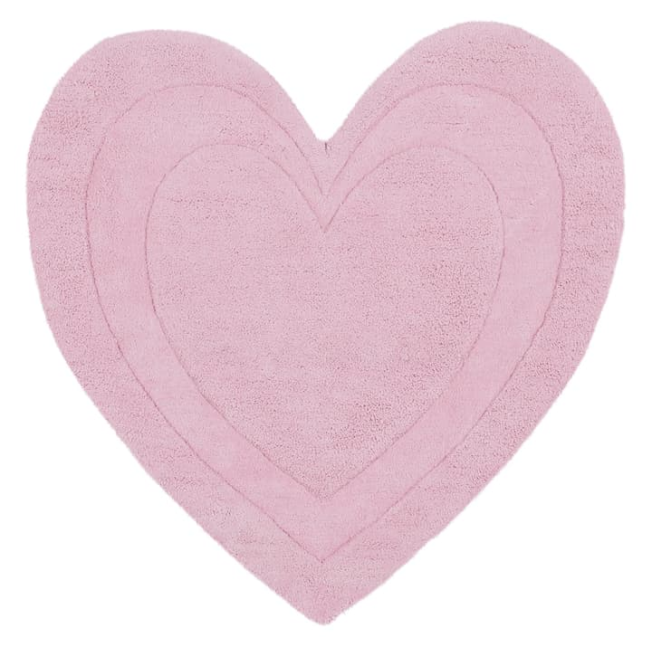 VRENI Tappeto 412006309038 Colore rosa Dimensioni L: 90.0 cm x P: 90.0 cm N. figura 1