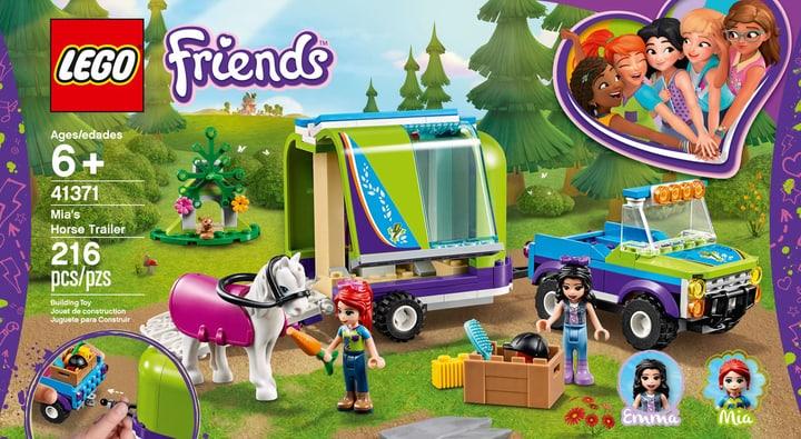 LEGO FRIENDS 41371 Il rimorchio dei 748718500000 N. figura 1