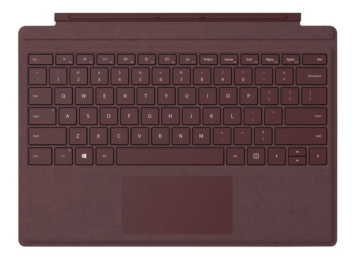 Surface Pro TypeCover Burgundy Microsoft 798406600000 Photo no. 1