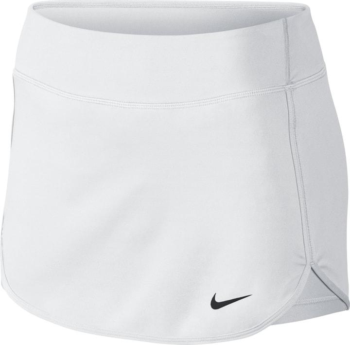 Straight Court Skirt Gonna da tennis da donna Nike 473213200510 Colore bianco Taglie L N. figura 1