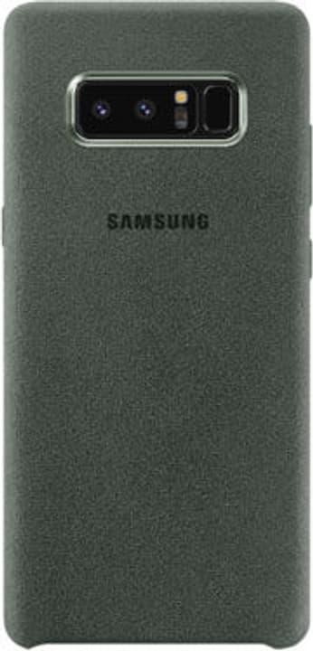 Alcantara Cover khaki Coque Samsung 785300130371 Photo no. 1