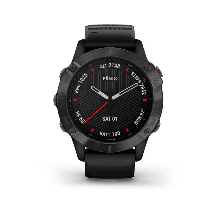 Fenix 6 Sapphire Montre GPS de Running Garmin 463095700000 Photo no. 1