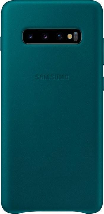 Leather Cover Green Custodia Samsung 785300142487 N. figura 1