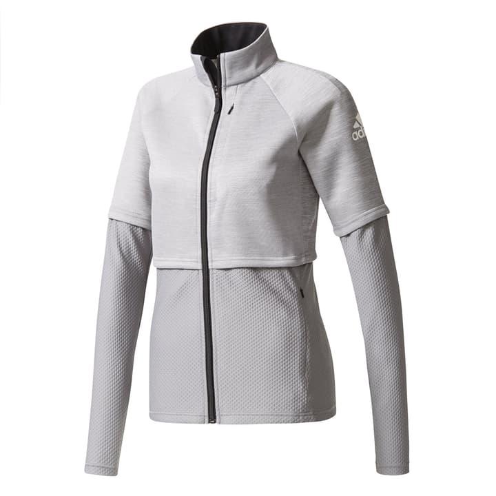 Veste pour dame Adidas 460999500380 Couleur gris Taille S Photo no. 1