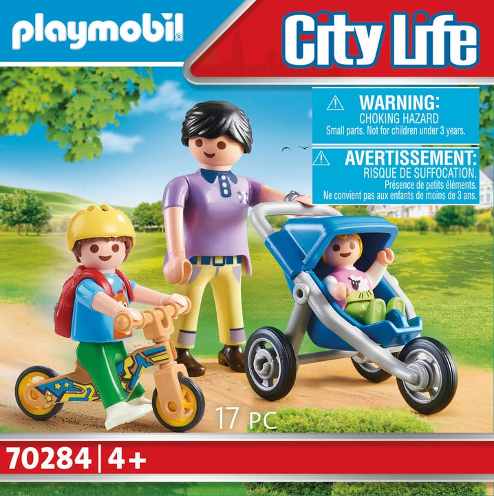 Maman avec enfants 70284 Playmobil 748026900000 Photo no. 1