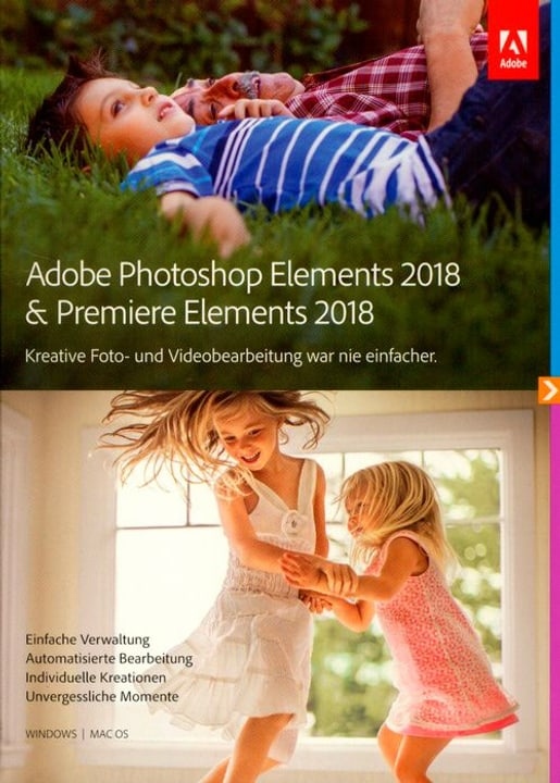 PC/Mac - Photoshop Elements 2018 & Premiere Elements 2018 (D) Physique (Box) Adobe 785300130208 Photo no. 1