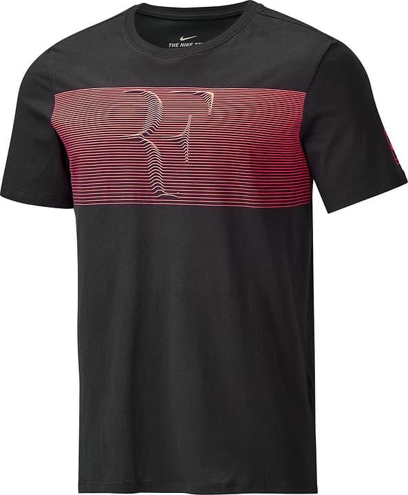 RF T-Shirt Shirt pour homme Nike 473221700320 Couleur noir Taille S Photo no. 1