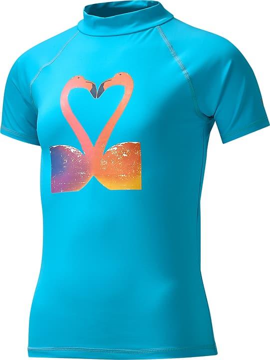 T-shirt de bain U.V.P. pour fille Extend 464525712244 Couleur turquoise Taille 122 Photo no. 1