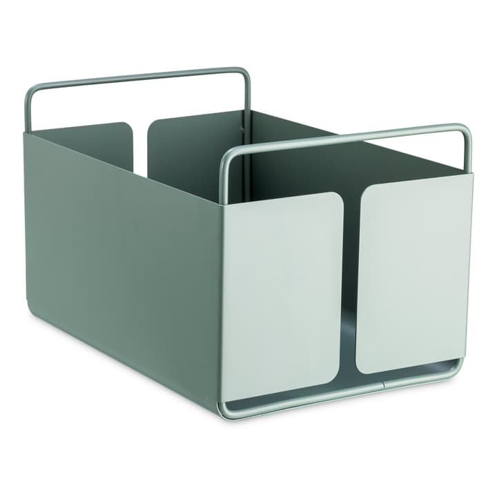 NIKLAS cestino di metallo 374135500940 Dimensioni L: 18.5 cm x P: 29.5 cm x A: 12.8 cm Colore Blu N. figura 1