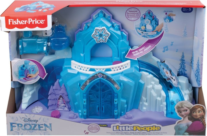 Fisher-Price Frozen Elsas Ice Palace 747653700000 Photo no. 1