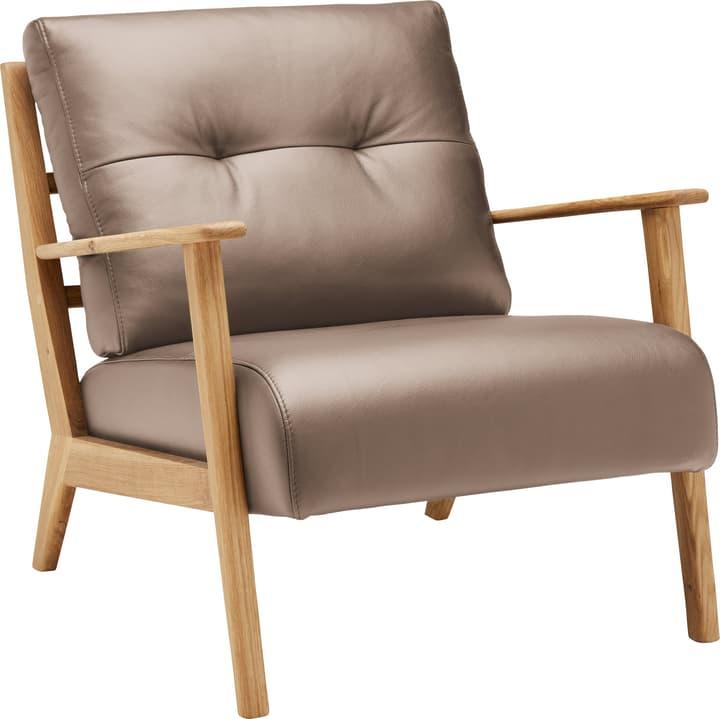 FAUST Sessel (Eton) 402467007085 Farbe Stein Grösse B: 76.0 cm x T: 80.0 cm x H: 78.0 cm Bild Nr. 1