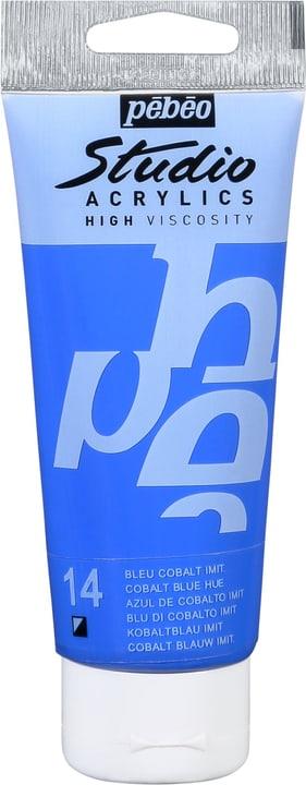 Pébéo Studio Acrylic Pebeo 663509831014 Couleur Bleu Cobalt Photo no. 1