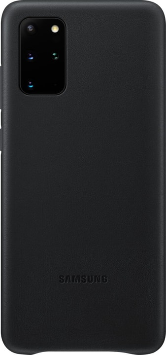 Hard-Cover Leather black Coque Samsung 785300151156 Photo no. 1