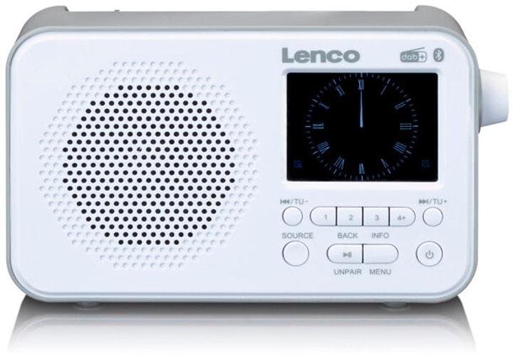PDR-035 - Blanc Radio DAB+ Lenco 785300151921 Photo no. 1