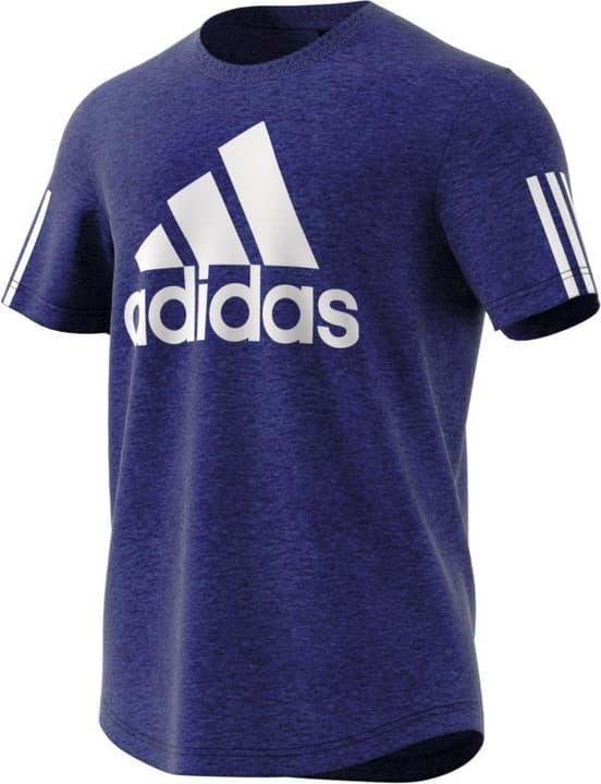 M Sport ID Logo Tee T-shirt da uomo Adidas 462391400640 Colore blu Taglie XL N. figura 1