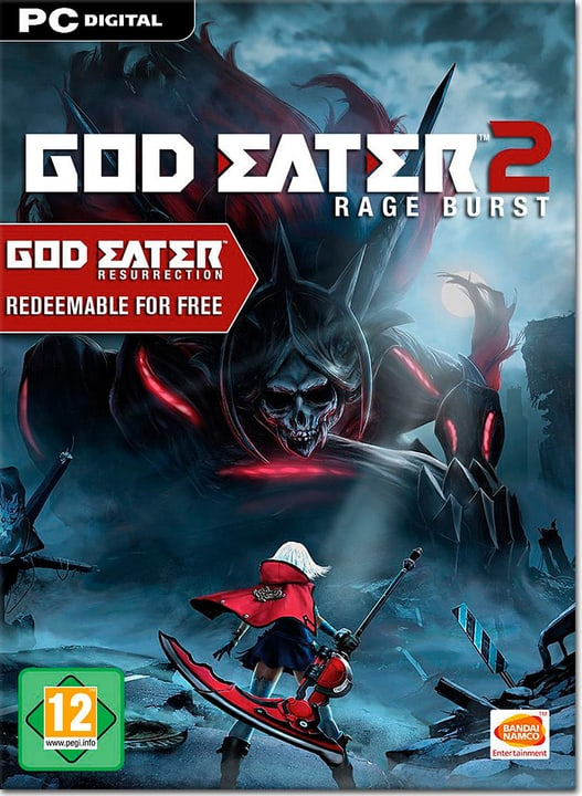 PC - God Eater 2: Rage Burst - D/F/I Download (ESD) 785300134420 Photo no. 1