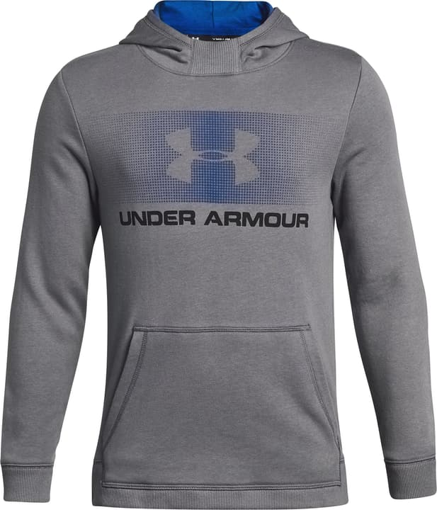 Hoodie UA Favorite Fleece Sweat-shirt à capuche pour fille Under Armour 464544712880 Couleur gris Taille 128 Photo no. 1
