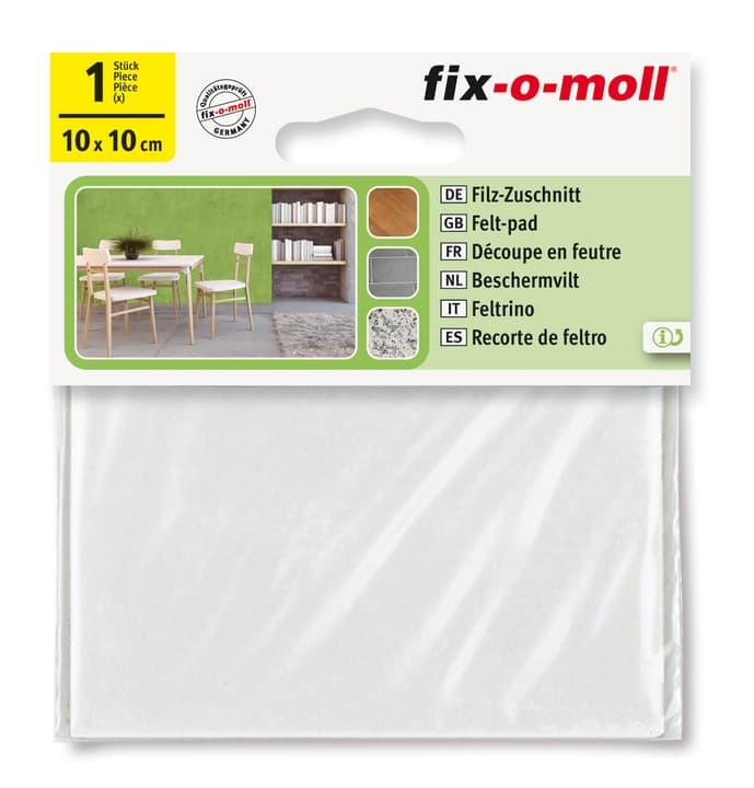 Filz-Zuschnitt 3 mm / 100 x 100 mm 1 x Fix-O-Moll 607069100000 Bild Nr. 1