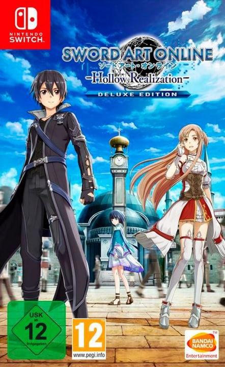 NSW - Sword Art Online: Hollow Realization Deluxe Edition Box 785300142172 N. figura 1