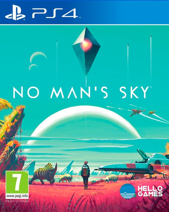 PS4 - No Mans Sky 785300120978 Photo no. 1