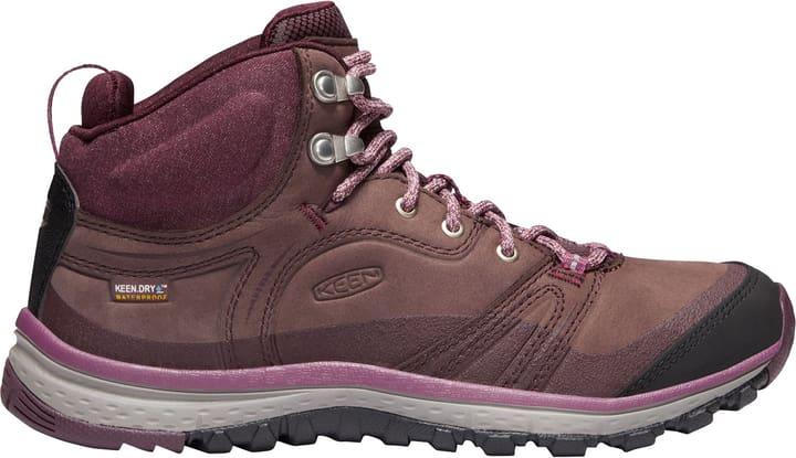 Terradora Leather Mid WP Scarponcino da escursione per donna Keen 473311837088 Colore bordeaux Taglie 37 N. figura 1