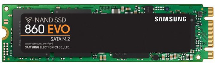 SSD 860 EVO 1 TB M.2 S-ATA III Disque Dur Interne SSD Samsung 785300132507 Photo no. 1