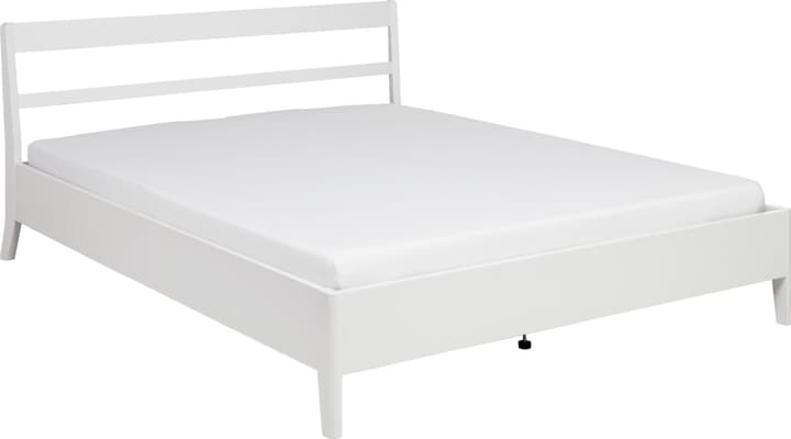 JULES Lit 404459800000 Couleur Blanc Dimensions L: 140.0 cm x P: 200.0 cm Photo no. 1