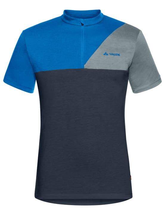 Men's Tremalzo Shirt IV Maillot à manches courtes pour homme Vaude 461352900443 Couleur bleu marine Taille M Photo no. 1