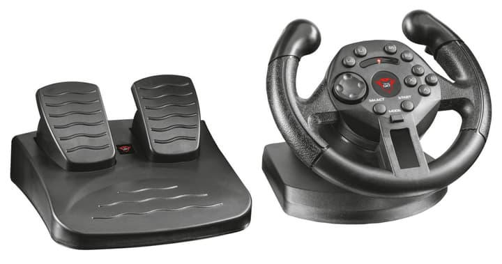 GXT 570 Compact VibratRacing Wheel (PS3/PC) Volante Trust-Gaming 785300124931 N. figura 1