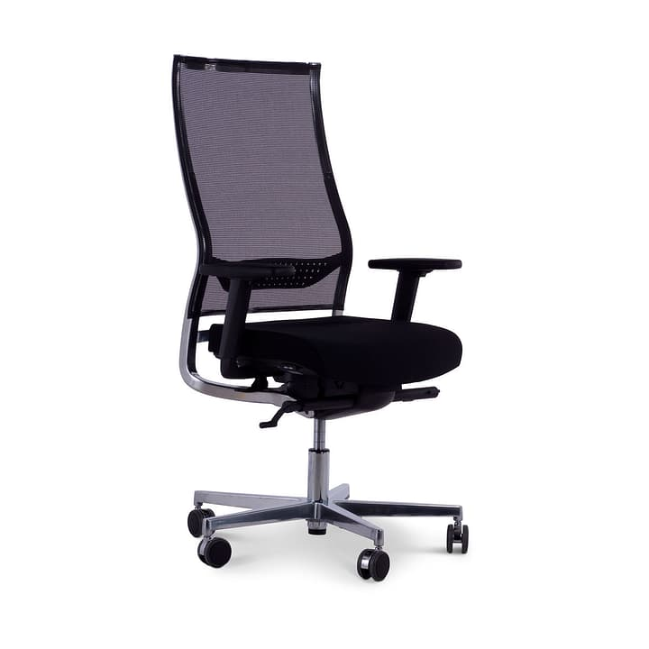 LUIZ Chaise de bureau pivotante 364010600000 Photo no. 1